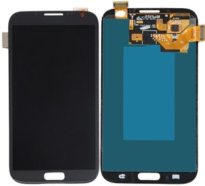 Samsung Galaxy Note 2 LCD Assembly - Grey - Wholesale Smartphone Parts - lcdcycle.com