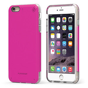 PureGear DualTek Pro Extreme Shock Case for Apple iPhone 7 - Pink / Clear - Retail Packaged - Wholesale Smartphone Parts - lcdcycle.com