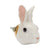 White Bunny Rabbit Head Doorknob