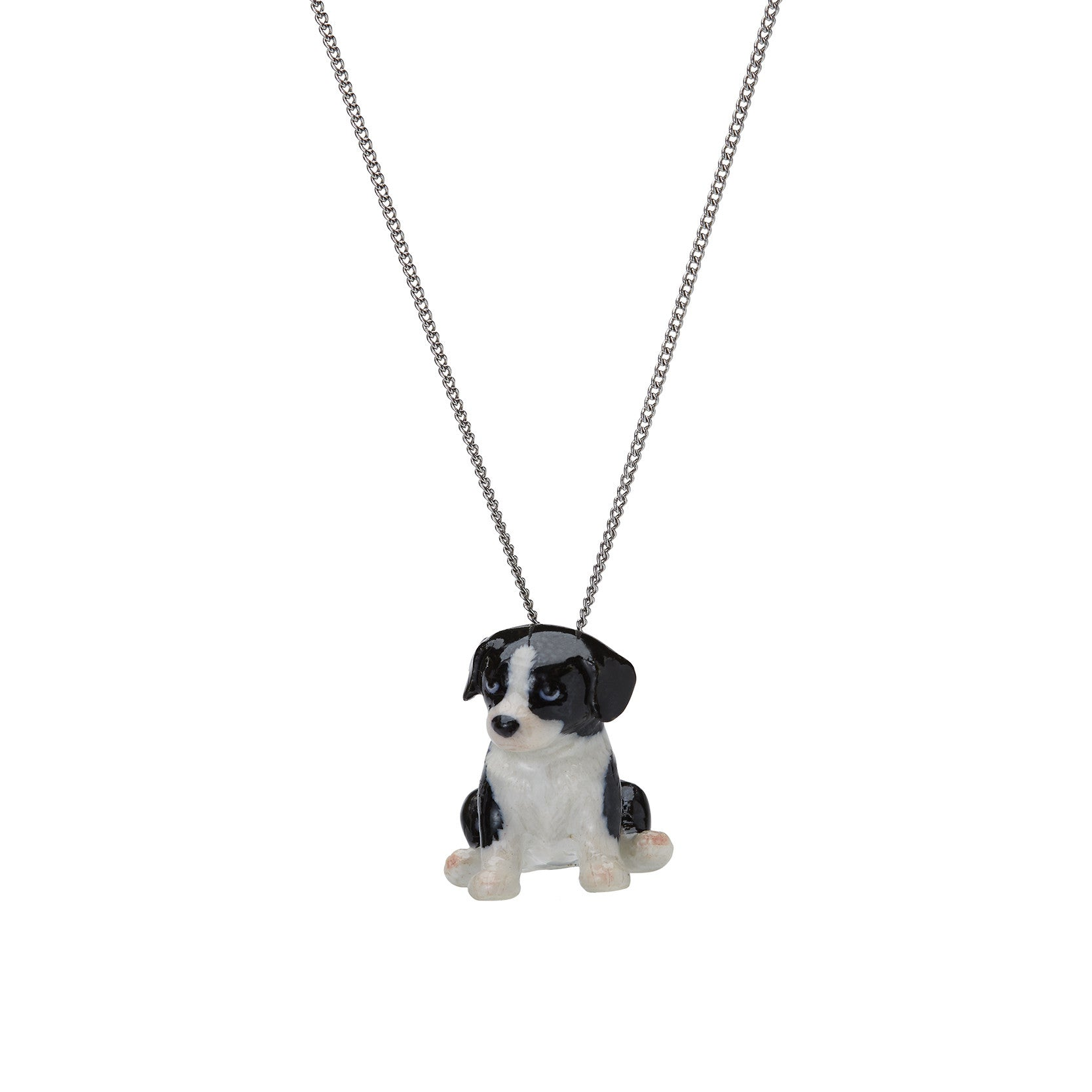 Flower the Border Collie Puppy Necklace