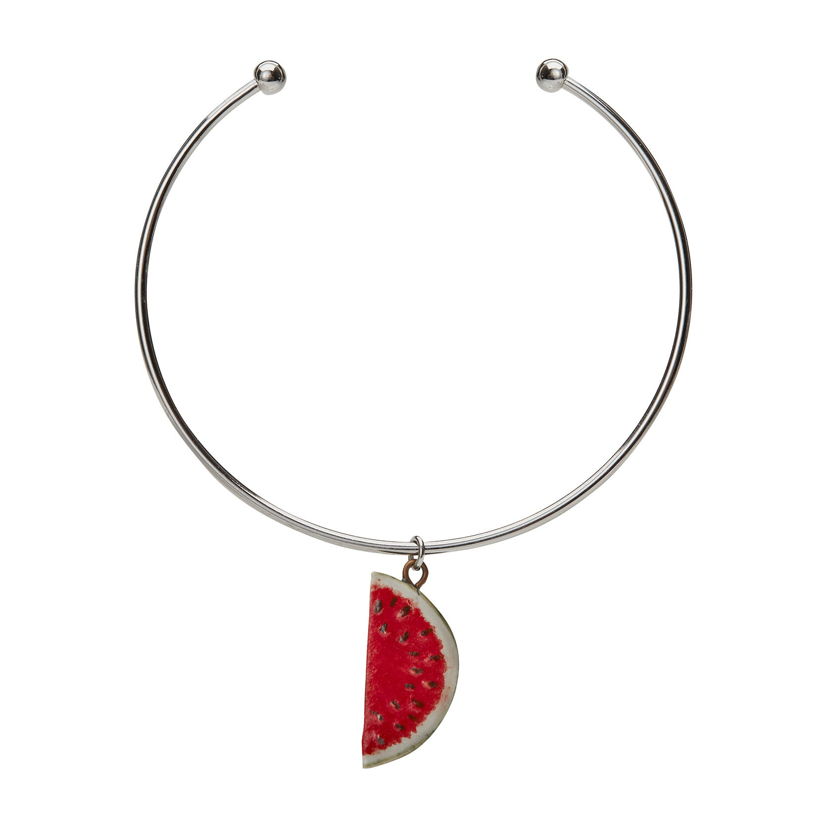 Watermelon Charm Bangle