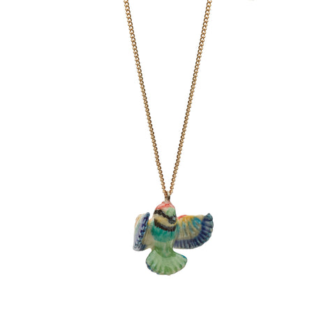 Tiny Bright Bee Eater Necklace