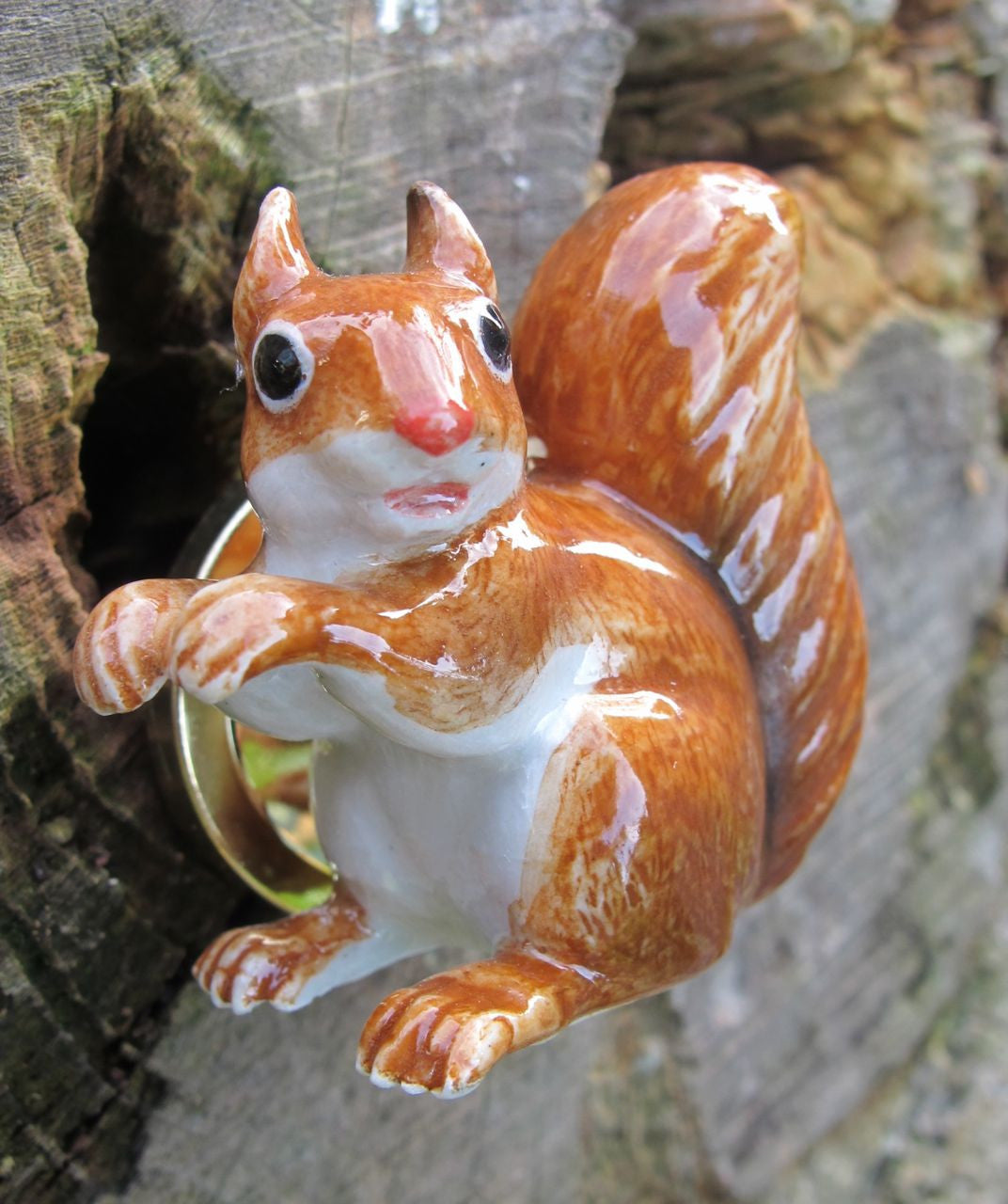Squirrel Doorknob