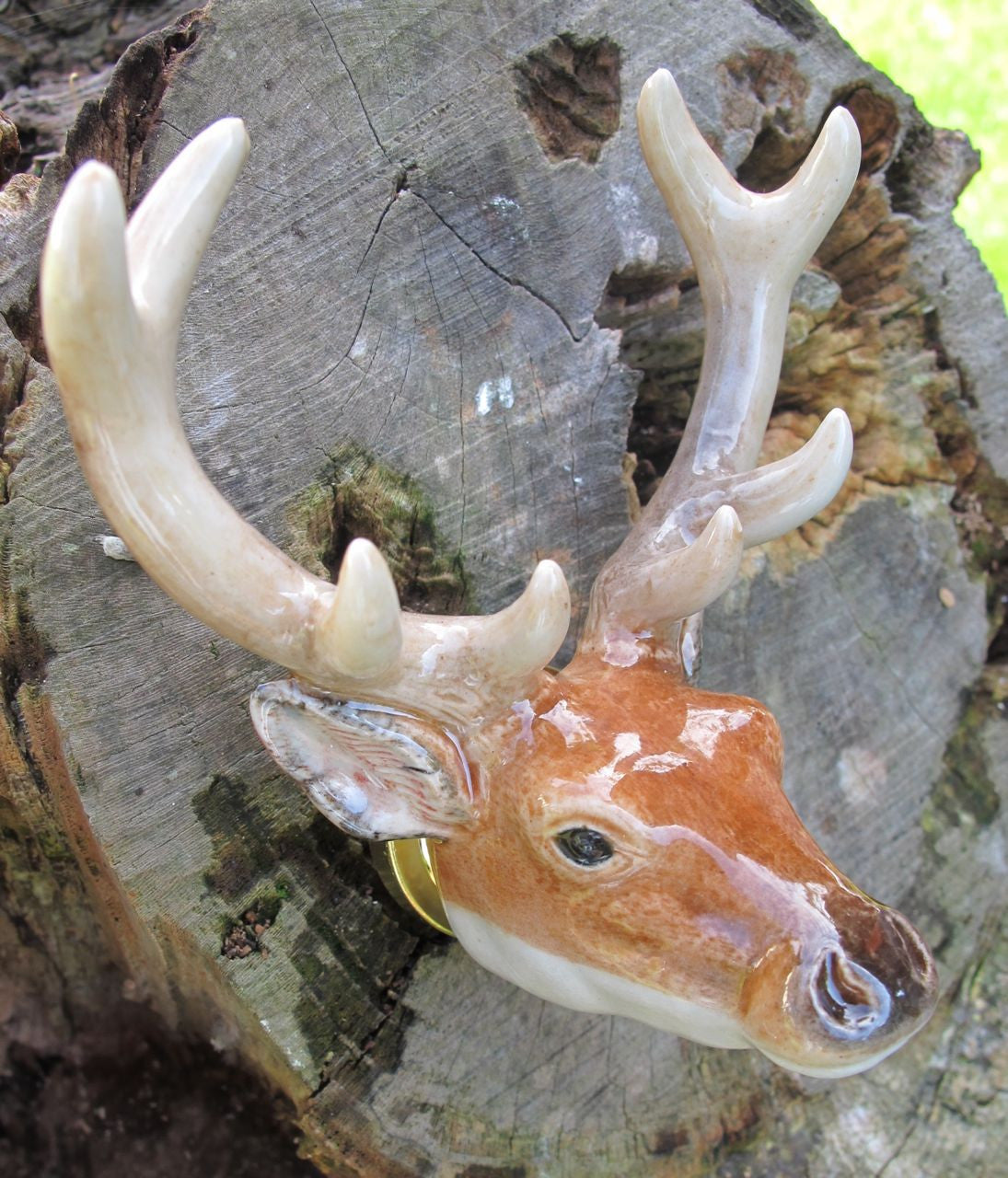 Stag Head Doorknob