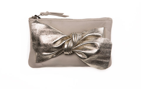 Nude Bow Purse