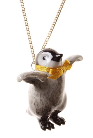 Pickle The Penguin Necklace