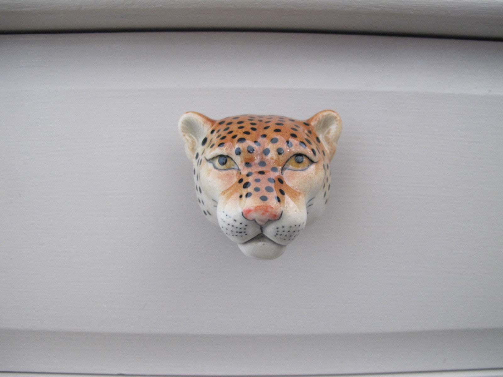 Leopard Head Doorknob