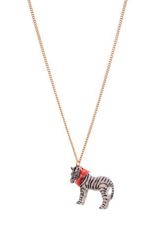 Small Zebra Necklace