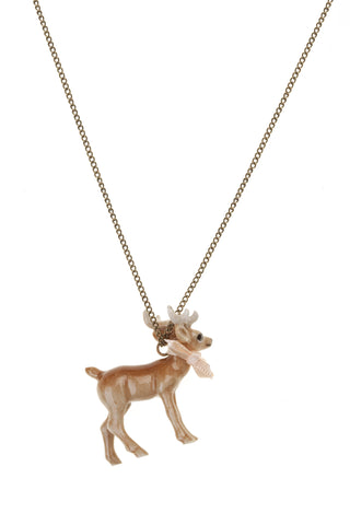 Baby Handsome Stag Necklace