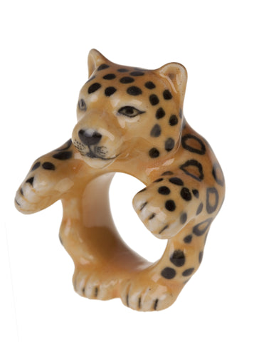 Leonard the Leopard Ring