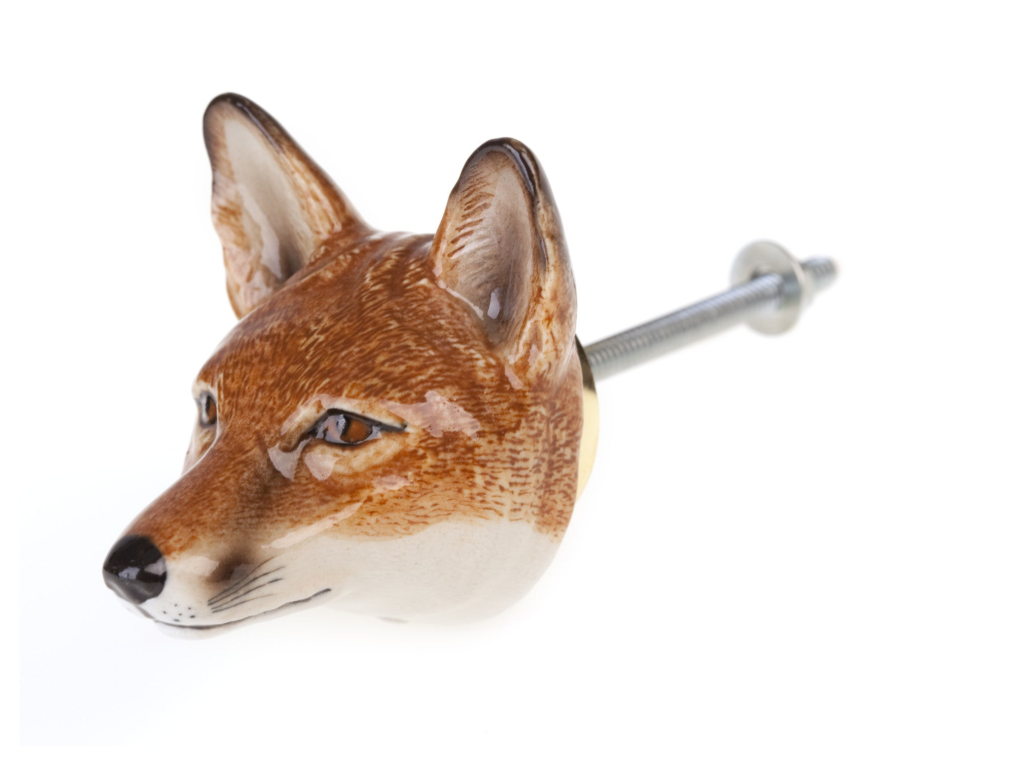 Fox Head Doorknob