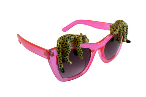 Lazy Leopard Pink Sunglasses