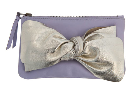 Lavender Bow Purse