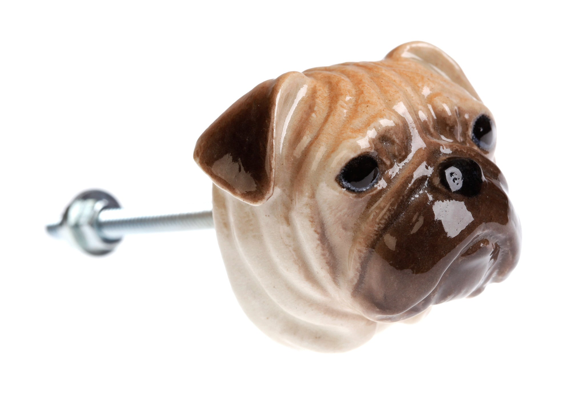 Pug Head Doorknob