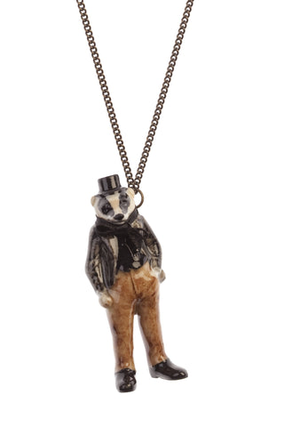 Mr Badger Necklace