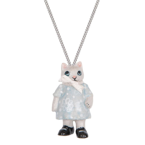 Kitten Girl Necklace