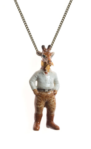 Mr Safari Giraffe Necklace