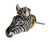 Zebra Head Doorknob