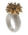 White & Gold Pineapple Ring