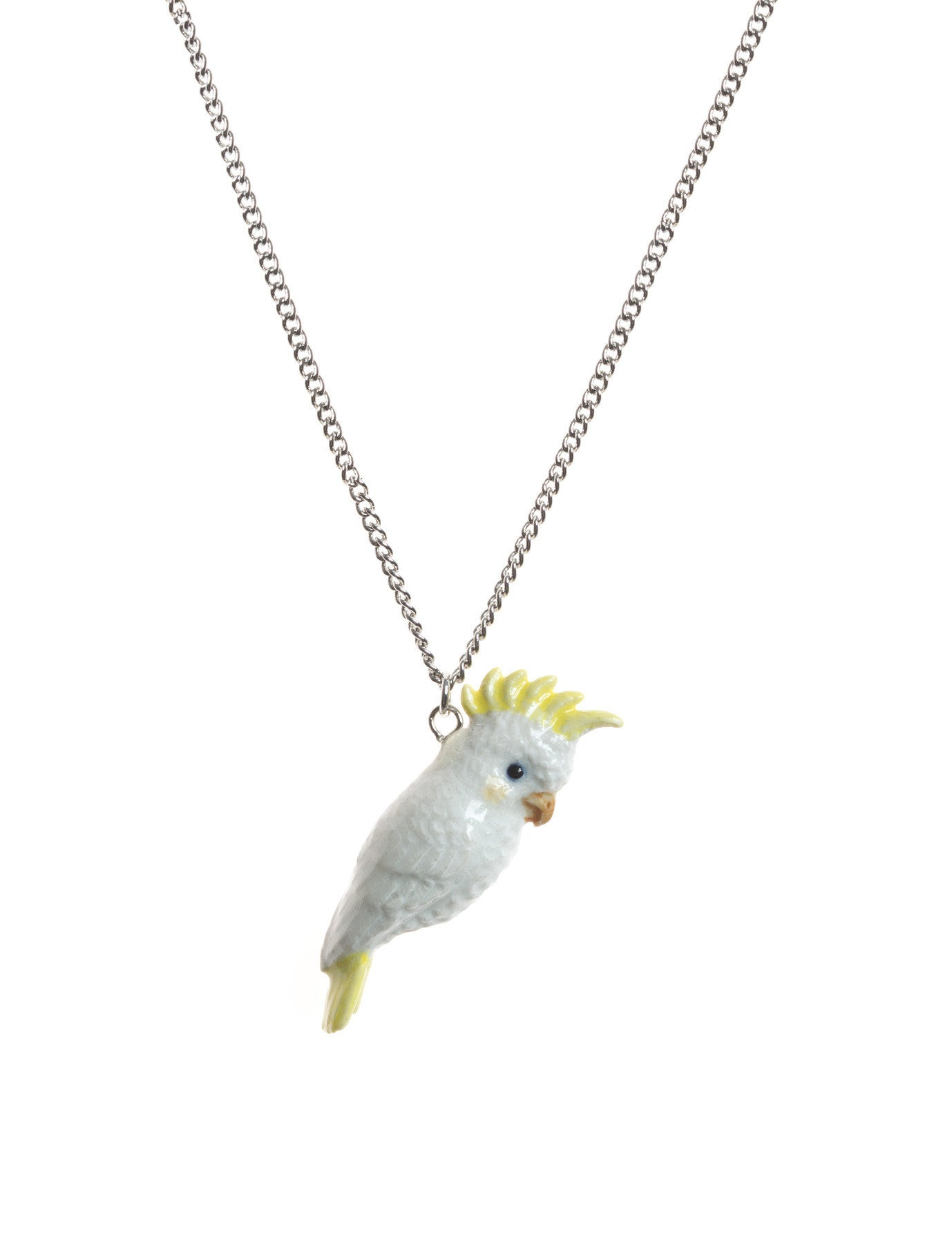 White Cockatoo Necklace