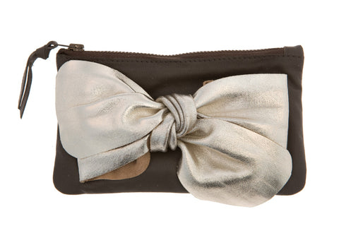 Chocolate Bow Purse