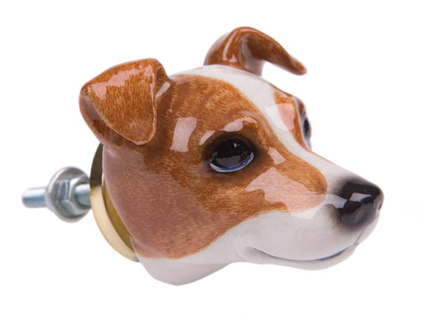 Paddy The Jack Russell Terrier Doorknob