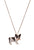 Baby Black and White Frenchie Necklace