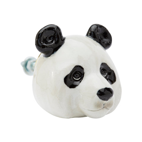 Panda Head Doorknob