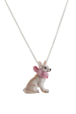 Sitting Chihuahua Necklace