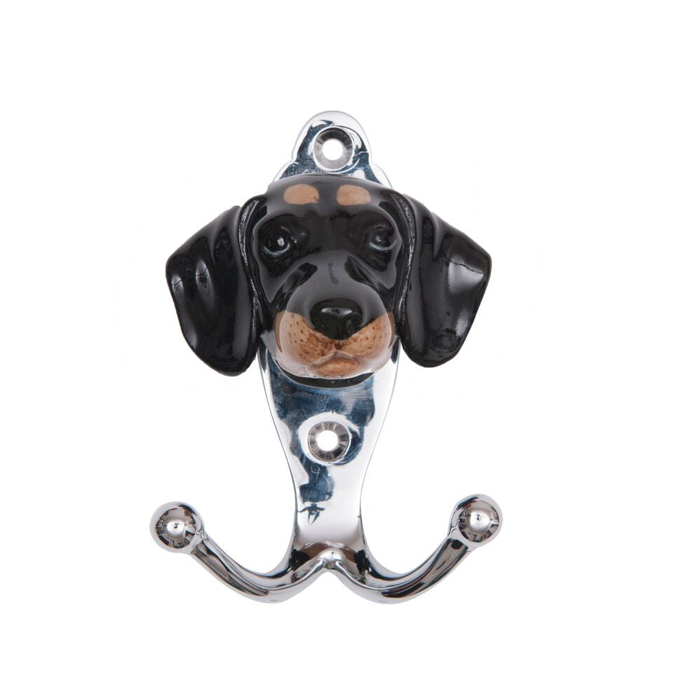 Black Dachshund Hook