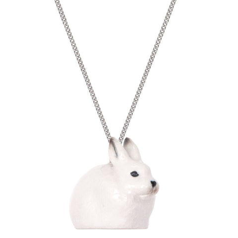 Snowshoe Hare Necklace