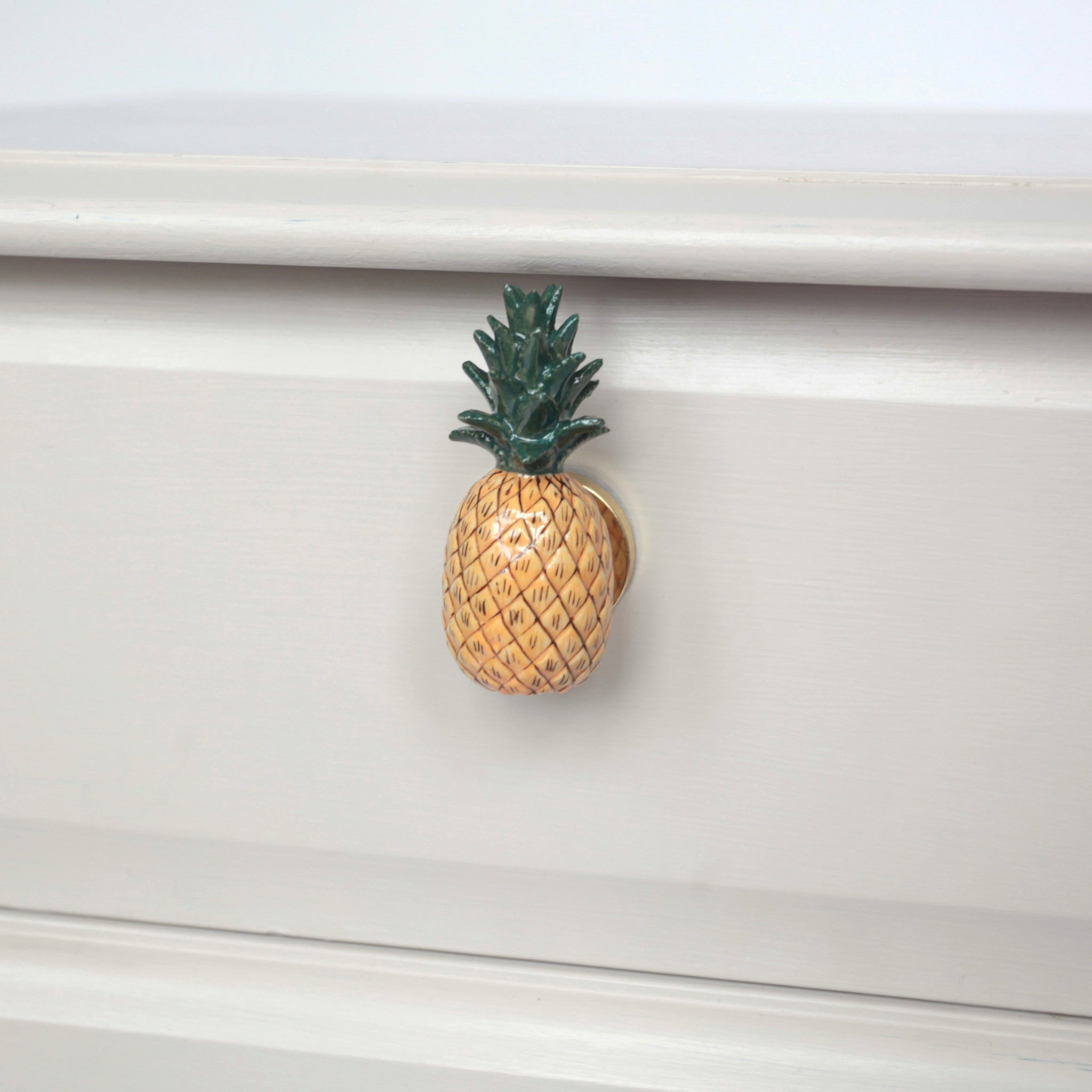 Pineapple Doorknob