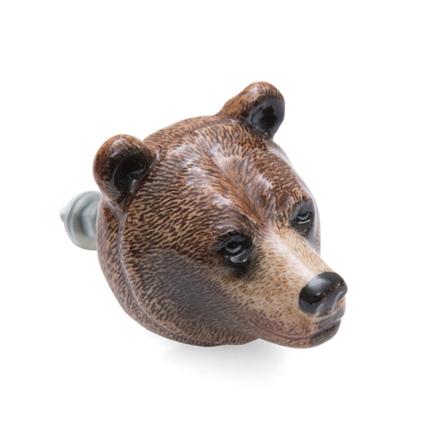 Brown Bear Doorknob