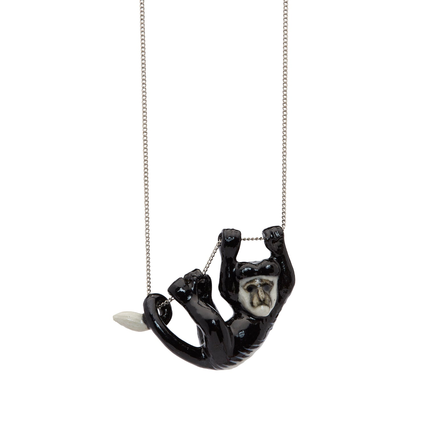 Colobus Monkey Necklace