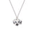 Dalmatian Head Necklace
