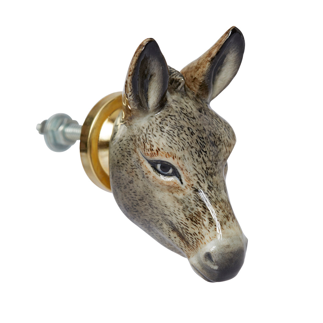 Donkey Head Doorknob