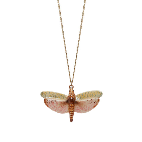 Natural Dragonfly Necklace