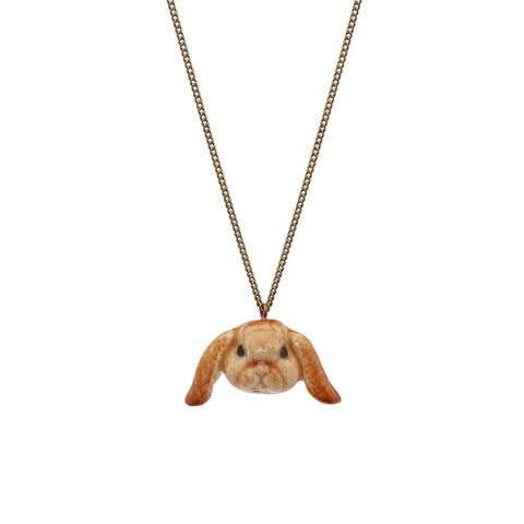 Floppy Eared Bunny Necklace