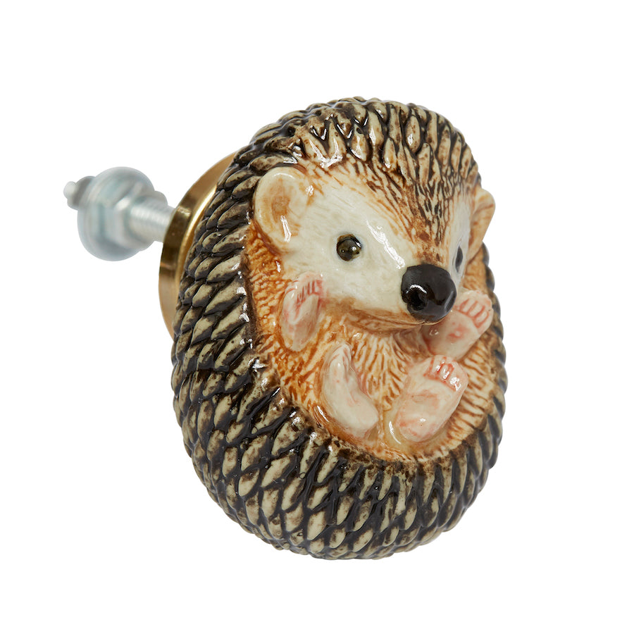 Baby Hedgehog Doorknob