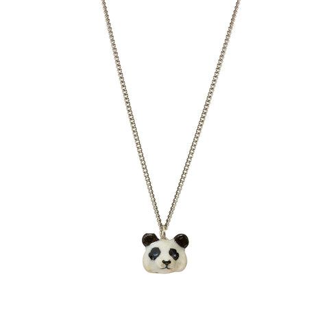 Tiny Panda Head Necklace