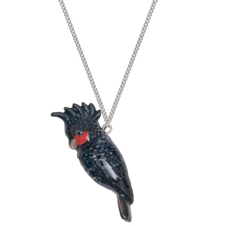 Black Cockatoo Necklace