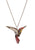 Red Hummingbird Necklace