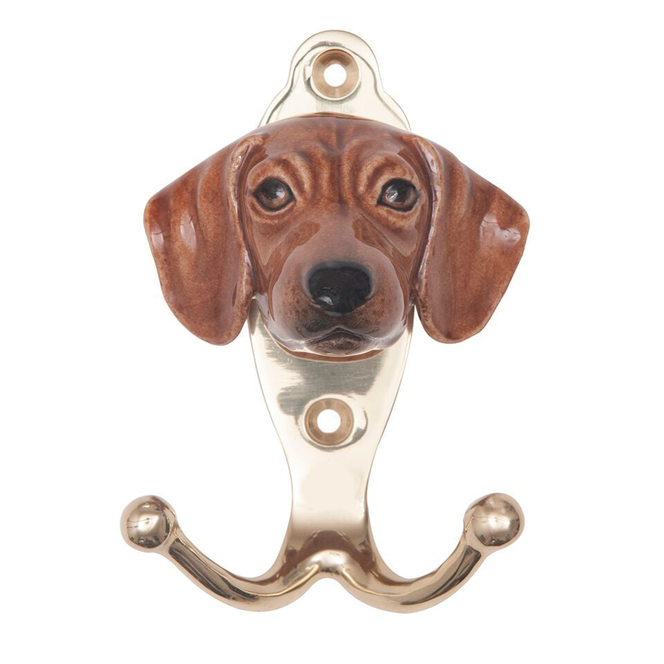 Brown Dachshund Hook
