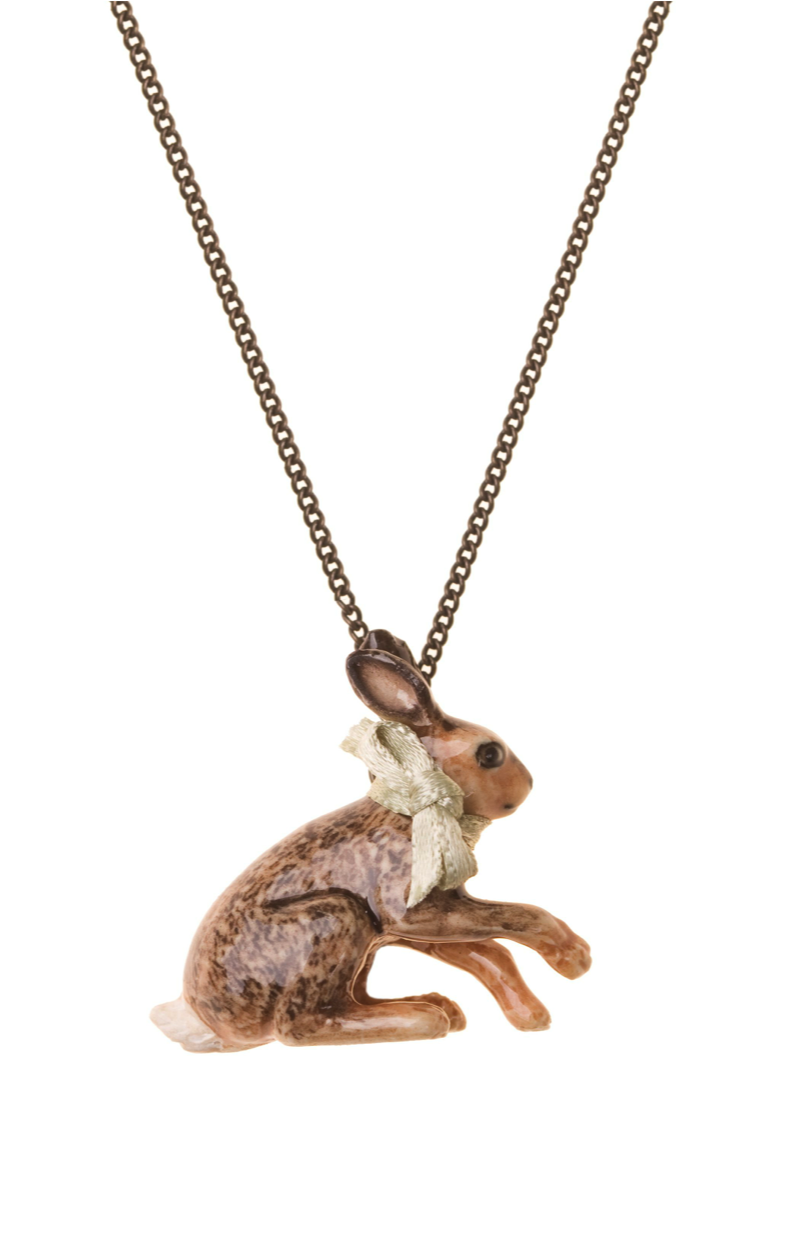 Sitting Hare Necklace