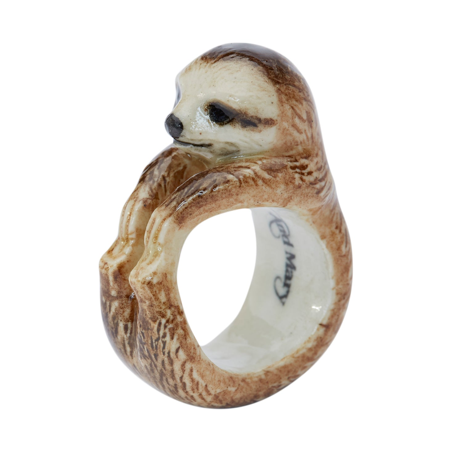 Sloth Ring | And Mary