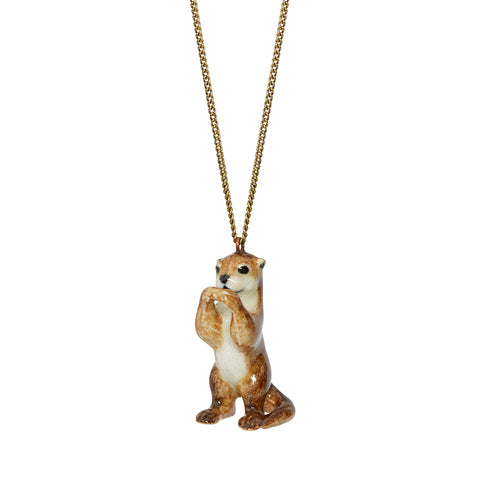 Standing Otter Necklace