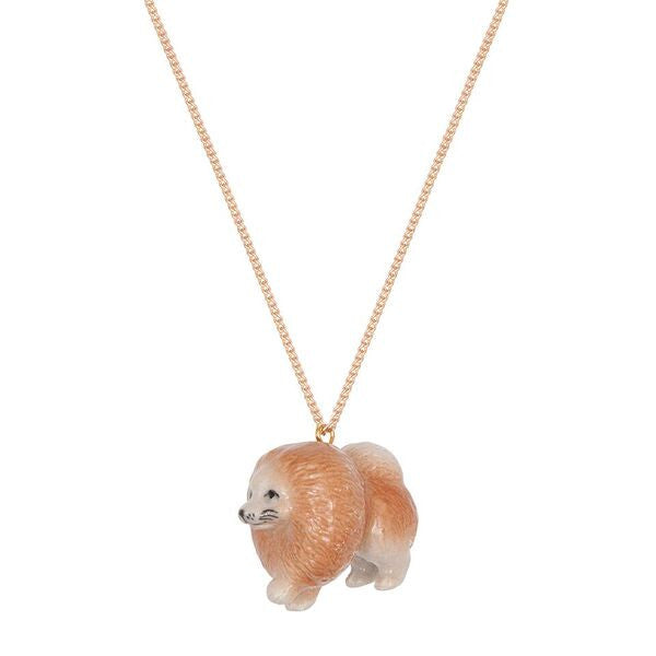Pablo The Pomeranian Necklace