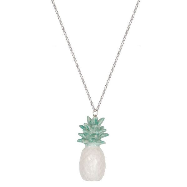 Mint Pineapple Necklace