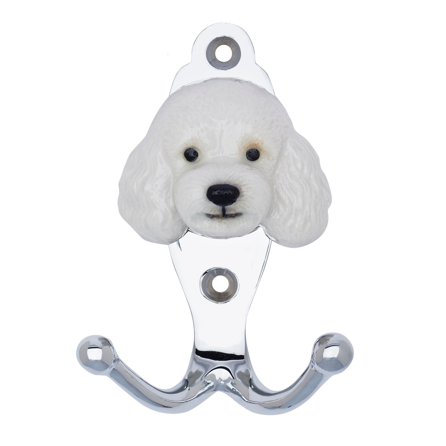 White Poodle Hook