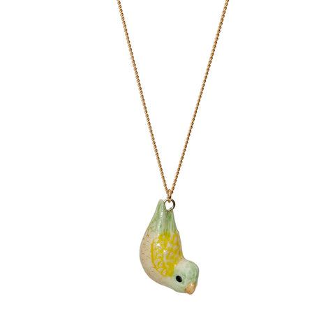 Yellow Parrotlet Necklace
